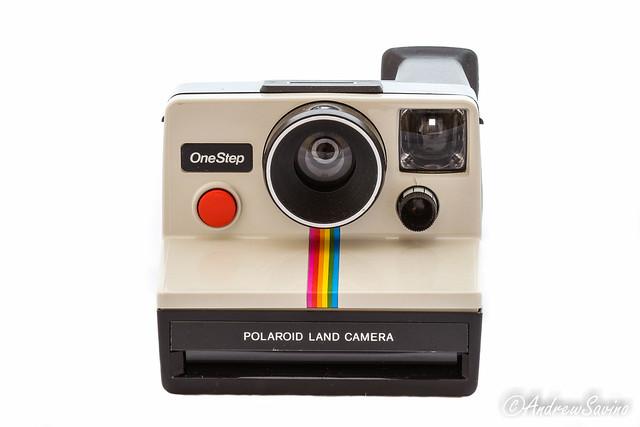 Polaroid SX-70 White Rainbow