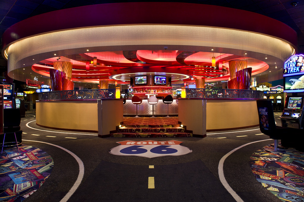 Casino Bar & Lounge | Bar Decor Design | Casino Lounge Design | Bar & Lounge Entry | 360 Bar & Lounge | Route 66 Casino