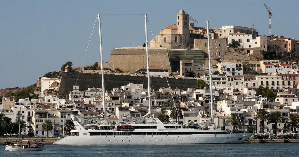 Compagnie du Ponant. Le Ponant & Dalt Vila. Ibiza