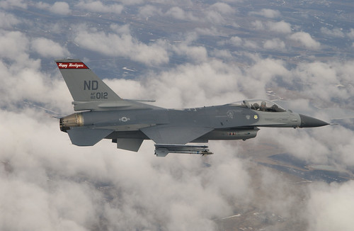 Col. Derrig in F-16_2 | by North Dakota National Guard