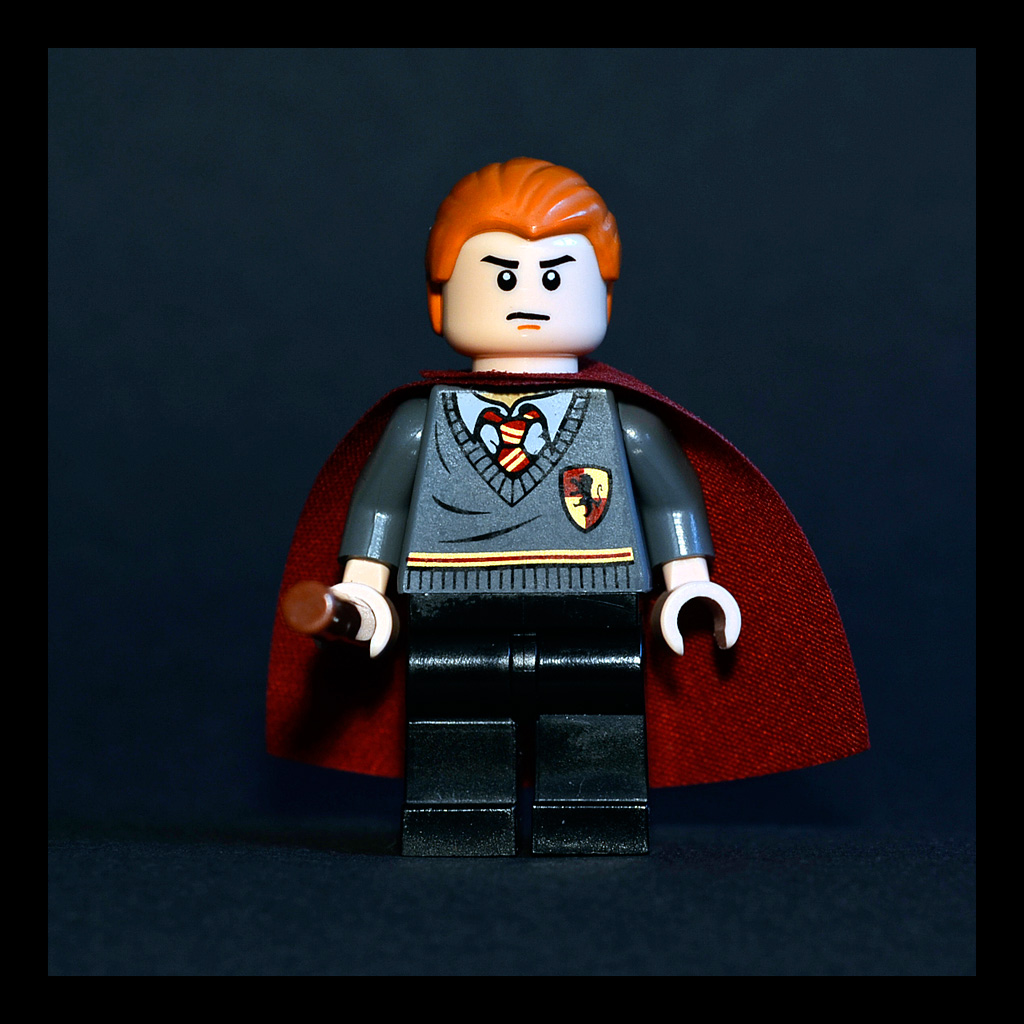 Percy Weasley | For Lego minifigure design contest  Cape ide… | Flickr