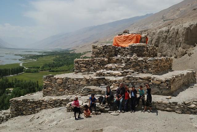Stupa bouddhiste de Vrang, corridor du Wakhan, Bernard Grua, Tadjikistan