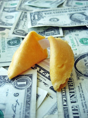 Fortune Cookie and Money | by Images_of_Money