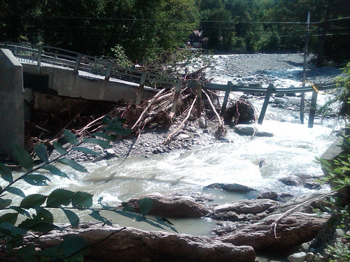 Floodwaters from tropical storm wash out Vermont roads | by USACE HQ
