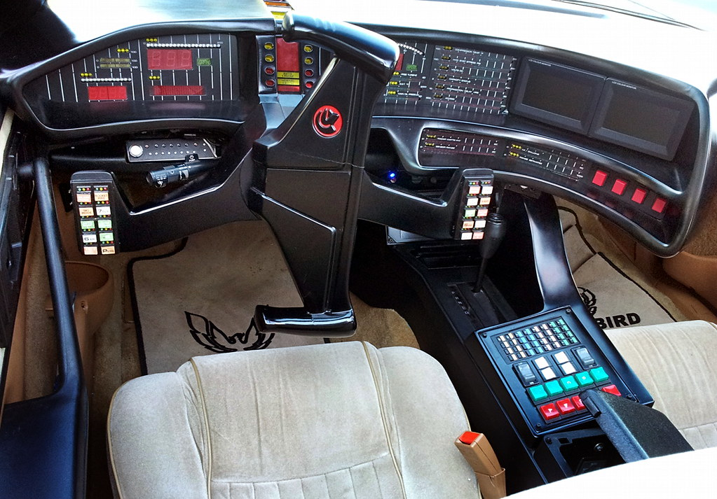 knight rider cockpit | Ahoy Car Tuning & Styling Event