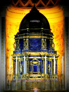 Lapis Lazuli altar in Palermo Cathedral