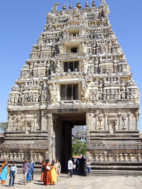 Halebid Gopuram Temple (India)