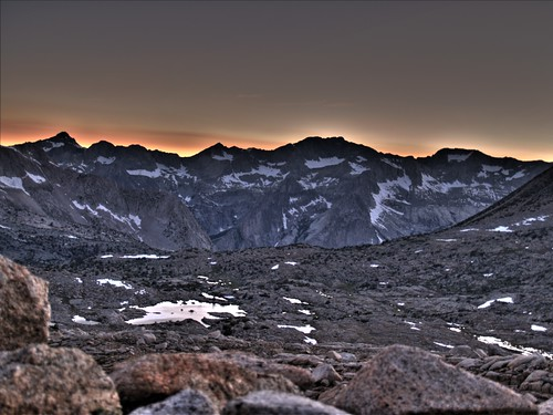 0921 Dusy Basin sunset HDR | by _JFR_