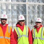 Fish Window Cleaning crew L-R Ian Oteo, Dustin West & Phillip Winters