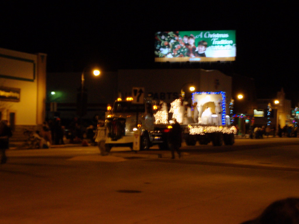 V H Truck Decorated With A Wreath Pulling The Snow Queen P Flickr