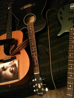 2Pac, two acoustics, and a bass | by zronnyz