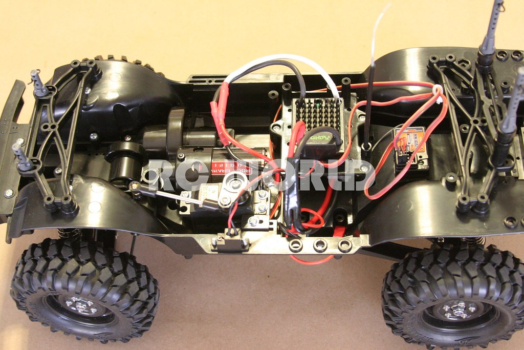 TAMIYA RC4WD FORD BRONCO ROCK CRAWLER CC-01 | RC WORLD | Flickr