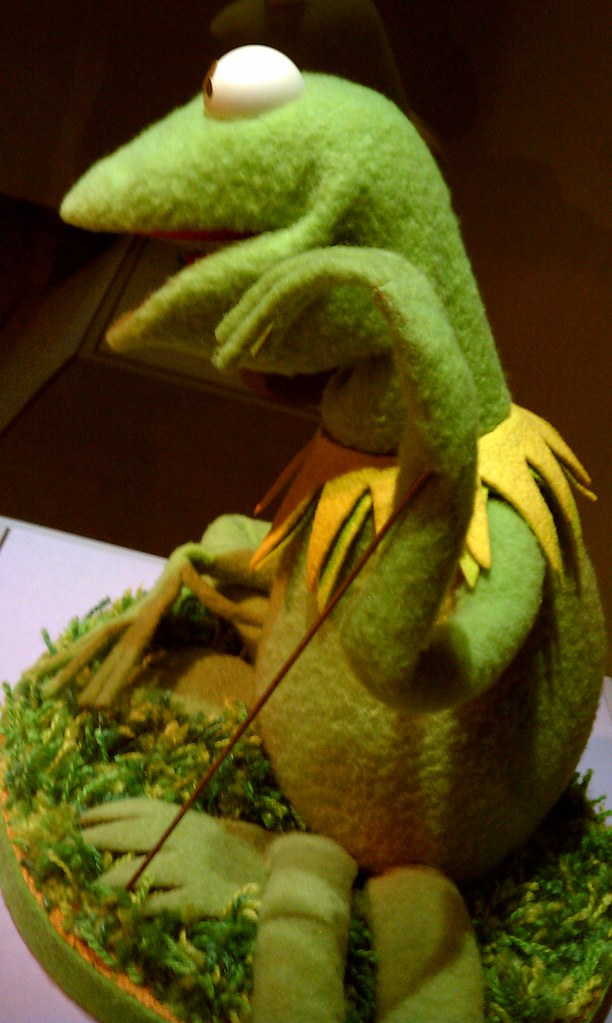 Kermit the Frog Side View | ThinkMoncur | Flickr