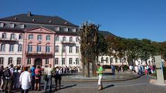Фонтан в городе Mainz