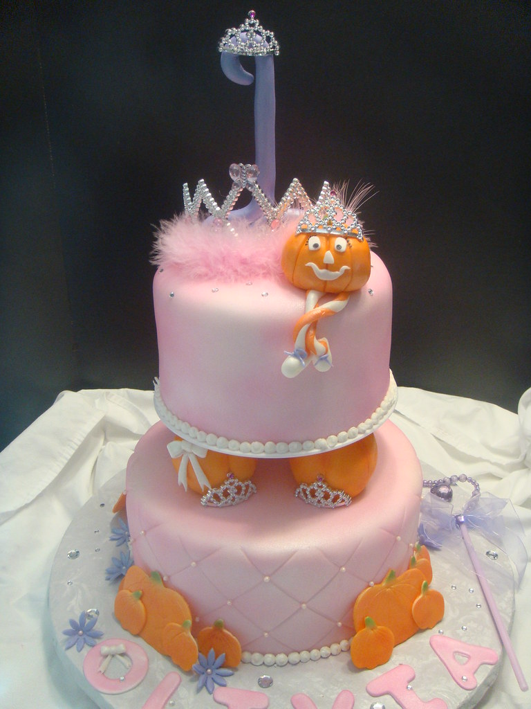 Halloween Princess Party Cake