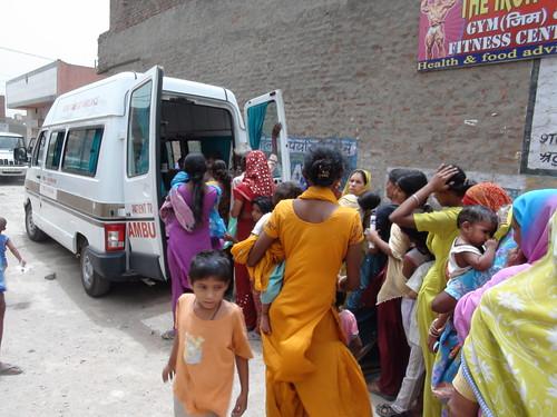 Mobile Medical Van - Ramakrishna Mission Delhi