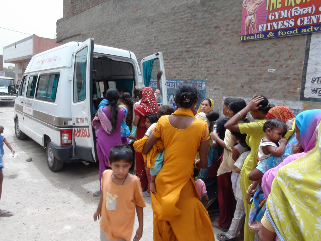 Medical Mobile Dispensary in rural Delhi | Providing medical