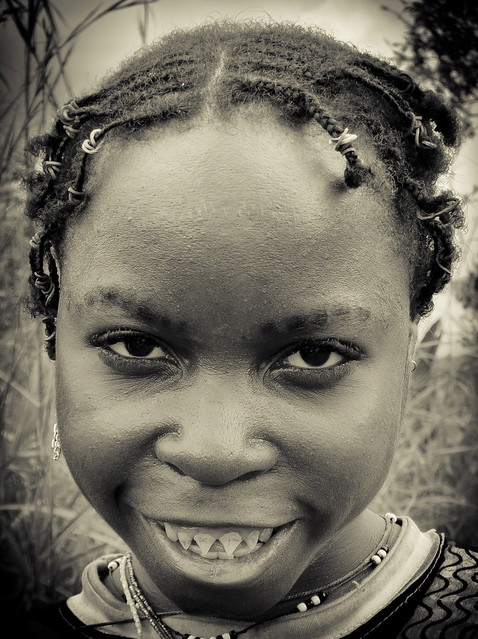pygmy girl