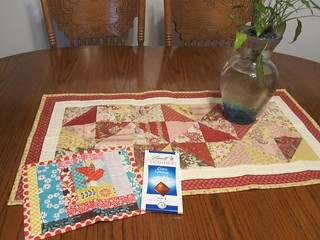 AWESOME table runner pkg. from Jenna