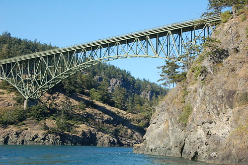 Deception Pass Bridge Washington State | by PatrickMcNallyMolokai