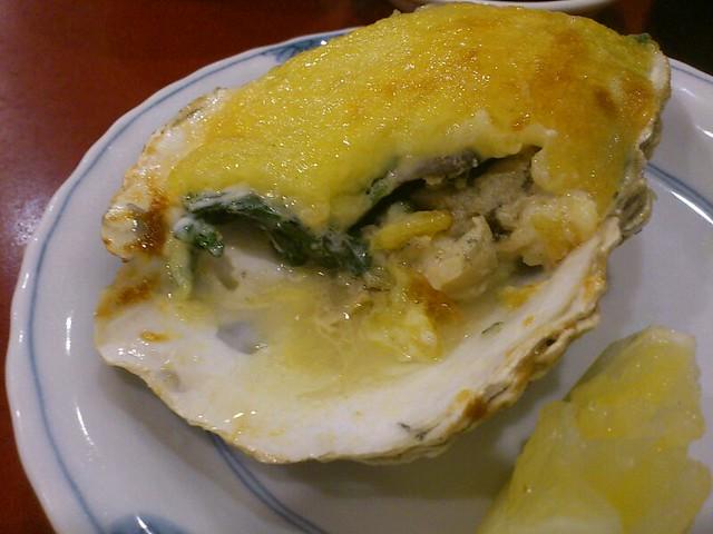 Oyster Motoyaki @ Takara Bune Japanese Restaurant