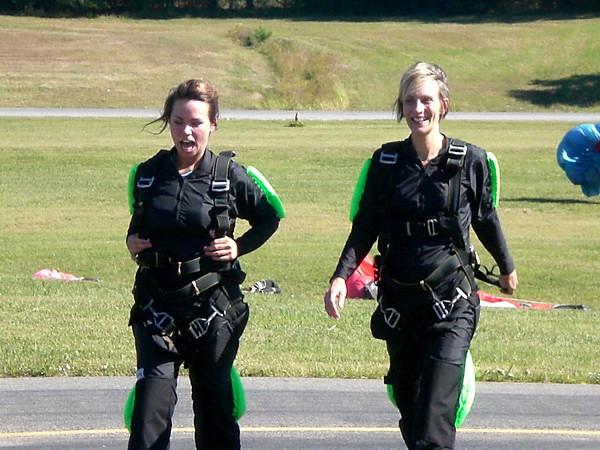 Skydiving - After