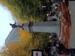 Lownsdale war memorial. #OccupyPortland @OccupyOregon @OccupyTogether