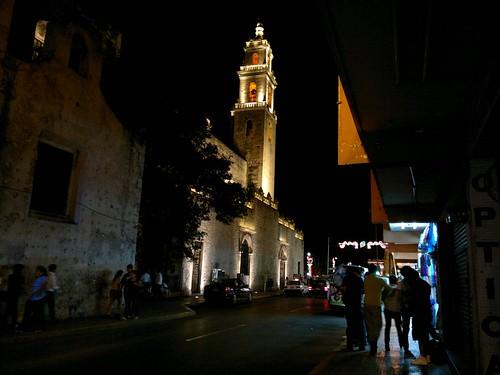 La vida en el centro histórico de la ciudad de Mérida