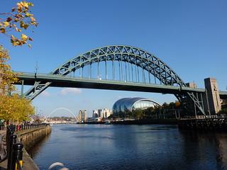 Tyne Bridge and the Sage   by Bryn Pinzgauer