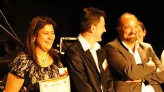 Mina Daban recieves an award (FRANCE)