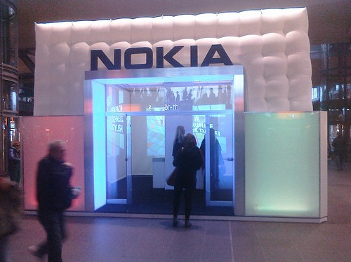 Nokia Booth presenting the Lumia 800 | by Pietropizzi