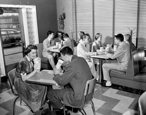 1950s Diner | Railroad Jack | Flickr