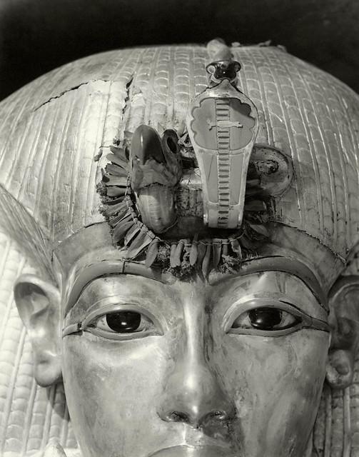 Outermost Coffin of Tutankhamun, 1926, by Harry Burton