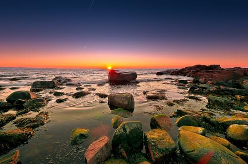 seascape beach skåne nikon rocks sweden explore 2011 dagshög mygearandme mygearandmepremium mygearandmebronze musictomyeyeslevel1 sigma816mmsunsetoceanandsky