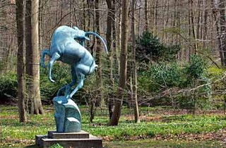 Leaping Gazelle, Marselisborg, Sweden | by Marshall M. Fredericks Sculpture Museum