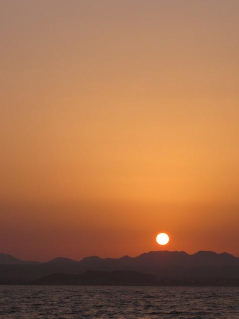 Sunset At Shaab Marsa Alam, Red Sea, Egypt #SCUBA