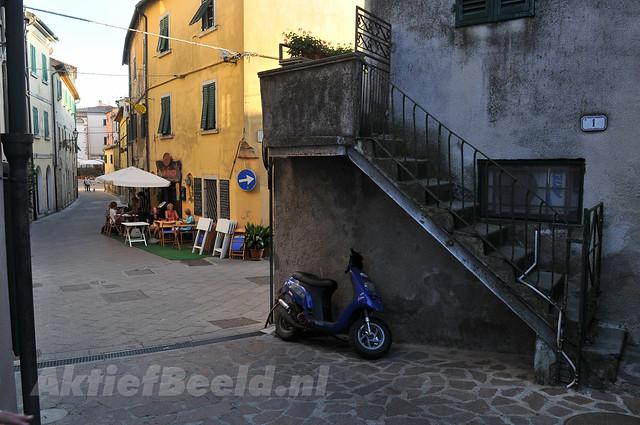 Small citycenter of Guardistella