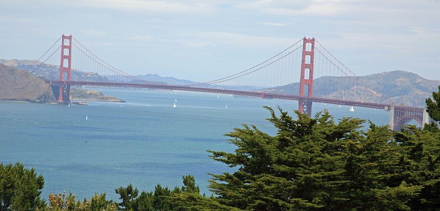 The Golden Gate from Lincoln Park