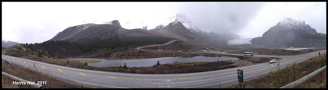 Panoramic Columbia Icefields - Rockies S1320e