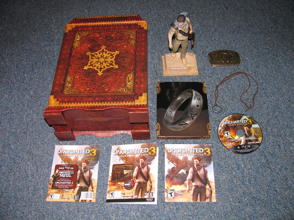 Uncharted 3 Drake S Deception Collector S Edition Flickr