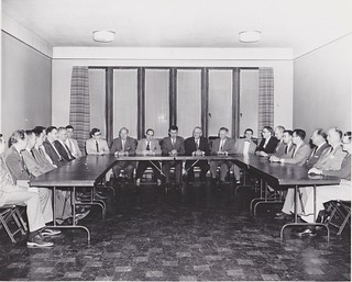 Y Archives - 5-18-1953 - Room 3 - Photographer Leslie Dunning - Board meeting | by universityymca