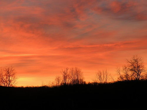 november ohio sky orange night sunrise bellbrook geotaggedohio washingtonmillpark kkfrombb