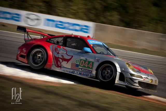 Flying Lizard Porsche 911 GT3 RSR
