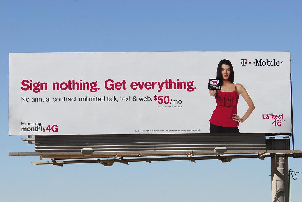 T Mobile Billboard Santan Freeway Loop 202 Chandler Az Flickr