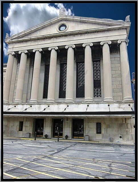 Stambaugh Auditorium ~ Youngstown OH ~ Main Entrance