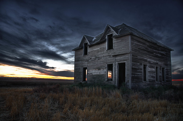 Dawn of the dead..... house