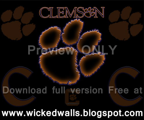 Clemson Tigers Blackened Wallpaper Android All Screens Flickr