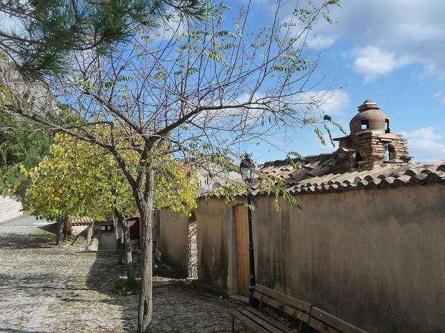 Nei pressi del Convento di Monte Stella