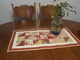 AWESOME table runner from jenna