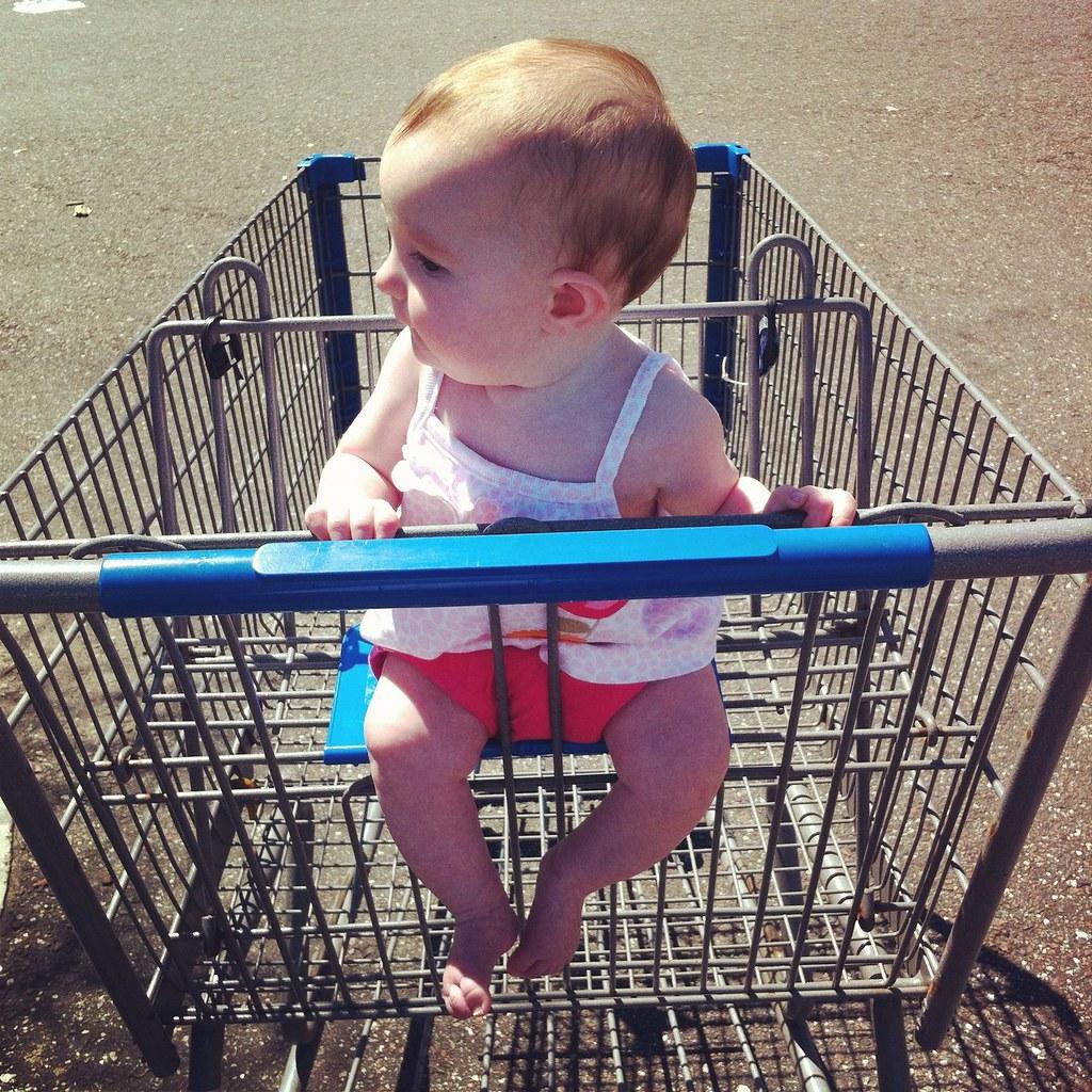 Shopping at Wal-Mart